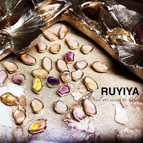 RUYIYA(ルイーヤ):ベイグフレームシェルストーン1344/アソートMIX