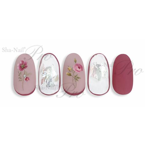 Sha-Nail Plus(写ネイルプラス):ネイルシール tiny flora -lady-/タイニーフローラ -レディー-/TF-P03