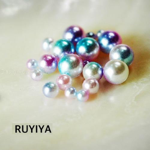 RUYIYA(ルイーヤ):マーメイドパールボール515/球体 混合サイズ(GROSS 約3g)