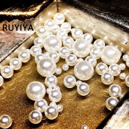 RUYIYA(ルイーヤ):パールボールMIX519/球体 混合サイズ(GROSS 約9.5g)