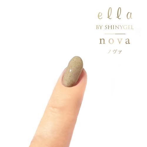 ella BY SHINYGEL nova:カラージェル 1018 モヘアベージュ(エラバイシャイニージェルノヴァ)[UVLED対応○] $