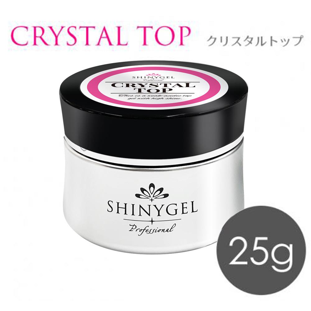 SHINYGEL Professional: クリスタルトップ25g (シャニージェルプロフェッショナル) $