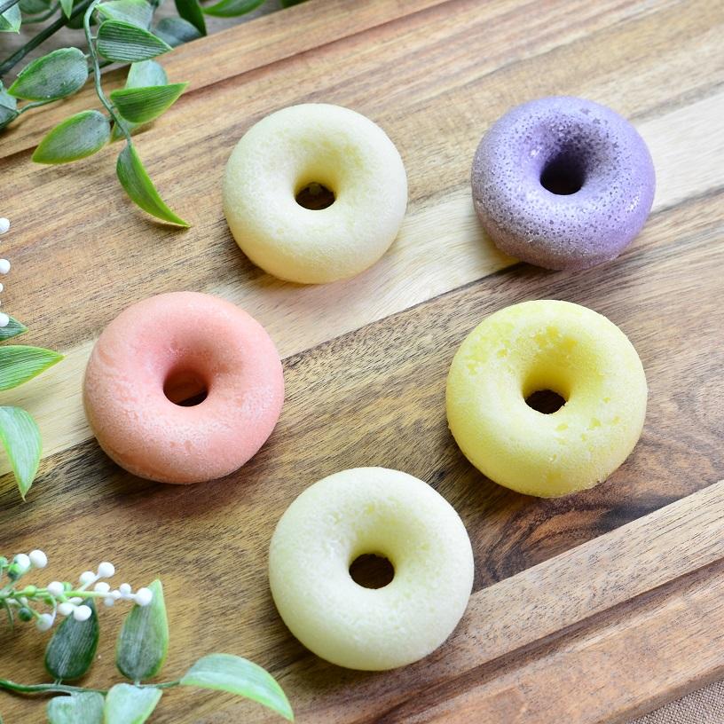 【ワンちゃん用/冷凍品】米粉の焼きドーナツ 5個セット