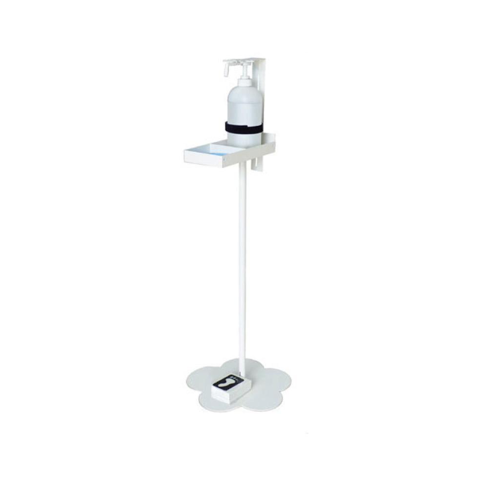 SFP-001 フットペダル式・足踏み式 消毒液スタンド   手指消毒 アフターコロナ対策 噴射機 ハイタイプ [スワロー電機]
