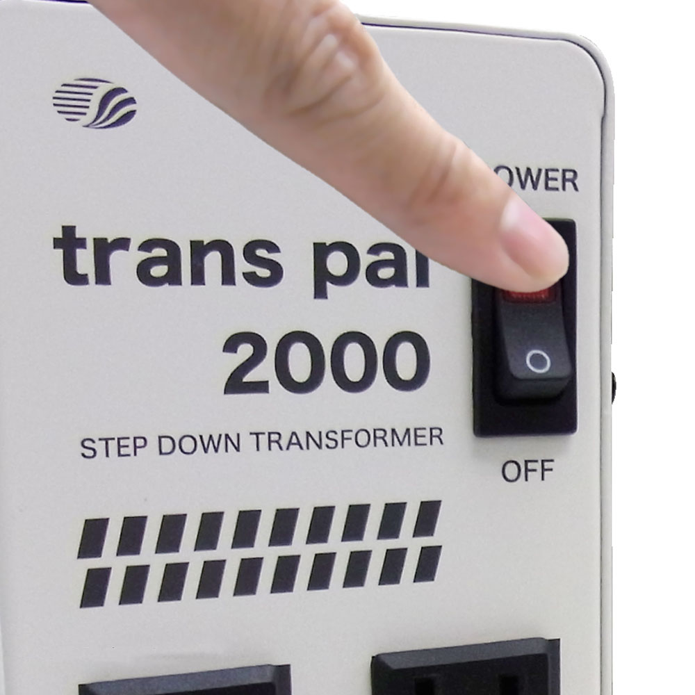 PAL-2000IP 海外用 2000W 変圧器  ダウントランス [スワロー電機]