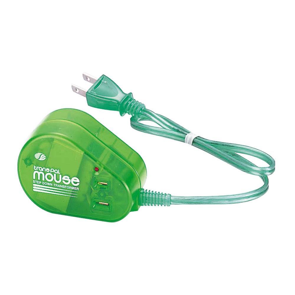 MOUSE-60 海外用 60W 変圧器 ダウントランス [スワロー電機]