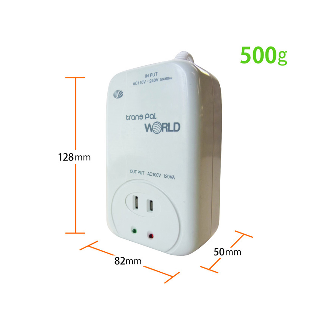 WORLD-120 海外用 120W 変圧器 ダウントランス [スワロー電機]