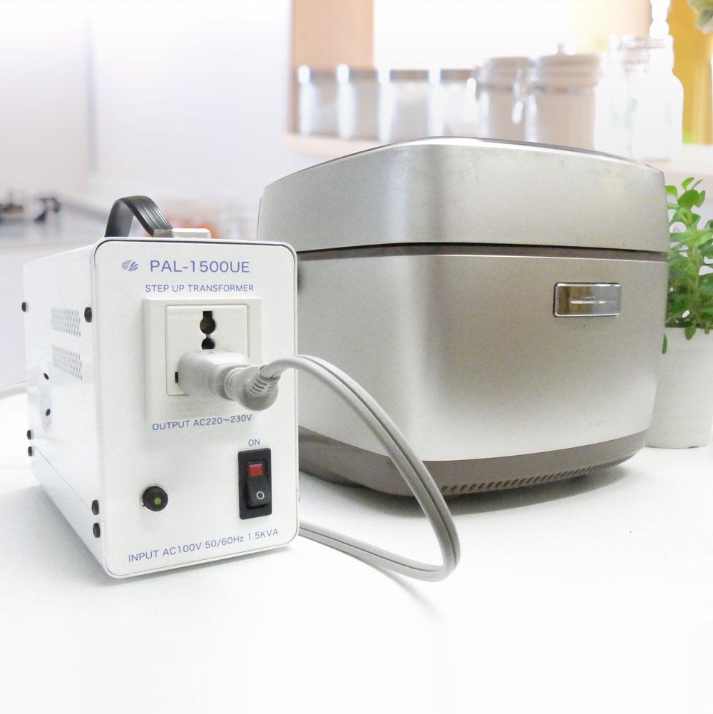 PAL-1500UE-DN 国内用 1500W 変圧器 アップトランス(二重梱包) [スワロー電機]