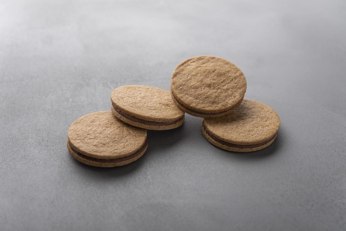 No. 10 Milk Chocolate Sand Biscuit