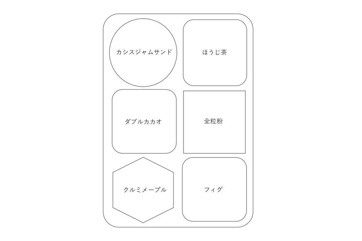 No. 21 Autumn Biscuits ※10/27(水曜日)13:00から販売開始します。