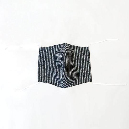大きいサイズの和柄マスク 3枚セット 綿100% 高島ちぢみ使用 吸湿性が高い 爽やかなつけ心地  形状保持 特大サイズ