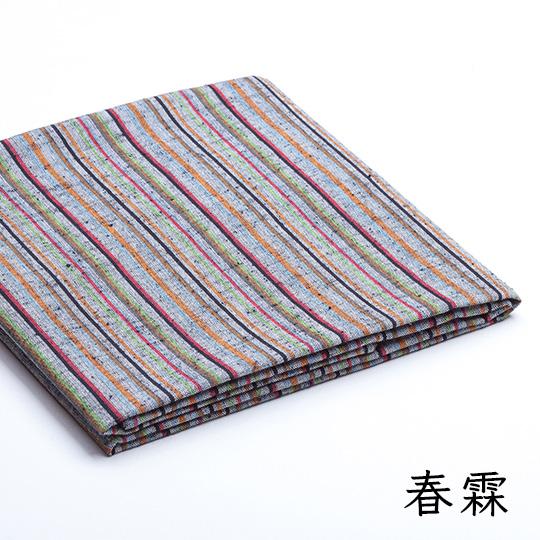 遠州綿紬 風呂敷 大きいサイズ 静岡土産 ギフトにもオススメ ぬくもり工房 日本色 90×90cm 全3色