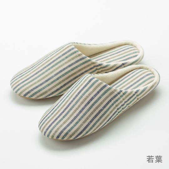 遠州綿紬 スリッパ 静岡土産 ギフトにもオススメ 洗濯機で丸洗いできる ぬくもり工房 日本色 全6色 Mサイズ Lサイズ