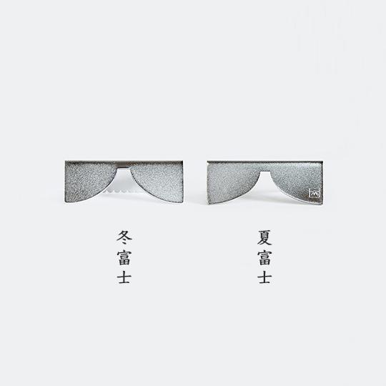 富士山箸置き ステンレス 2個セット おしゃれ シンプル 富士山グッズ キッチン雑貨 抗菌 静岡土産 ギフト