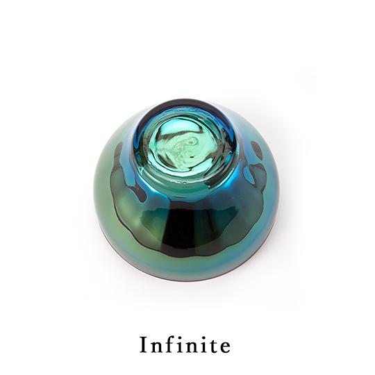 チタンジュエリーグラス ボールグラスお皿 器 宇宙開発技術 職人技術 お祝い お返し ギフト オリジナルボックス入り ガラス製 PROGRESS プログレス Nexus 全2色