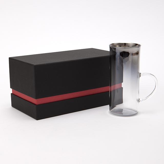 チタンジュエリーグラス 耐熱ホットグラス 宇宙開発技術 職人技術 お祝い お返し ギフト オリジナルボックス入り 耐熱ガラス製 PROGRESS プログレス Axis 全2色
