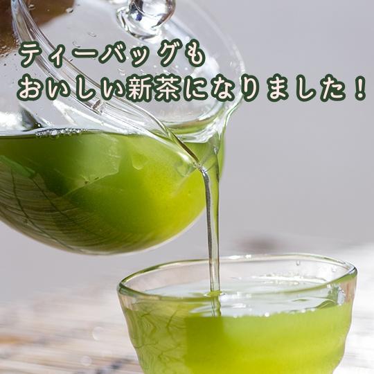 静岡新茶ティーバッグ 紐なし 25ケ入り×3袋 水出し 業務用 便利 本格緑茶 カテキン 濃厚 濃い ティーバッグ1袋で1L作れる 濃旨緑茶ティーバッグ
