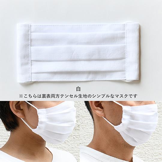 遠州綿紬 布マスク オシャレ ファッション 国産オーガニックコットン 肌荒れ防止 ゴムでサイズ調整 静岡土産 ギフトにもオススメ ぬくもり工房 日本色 全10色