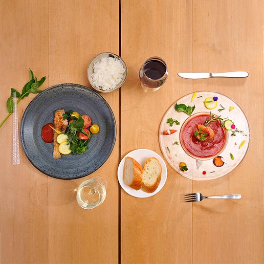 ワインに合う干物2点セット  おつまみ 無添加 フライパン 簡単  洋風 富士山サーモンディル風味3切 あじのしょうが風味2切 トマトソース付き フレンチ干物 ペッシュール お中元 お歳暮