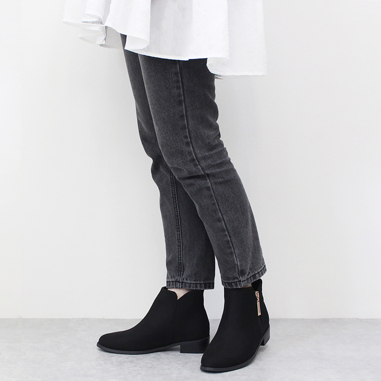 Casual Short Boots [9112R]