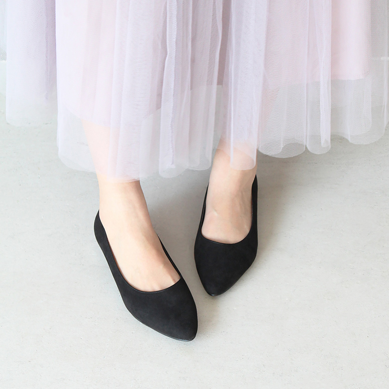 Suede Pointed Pumps [No.8426-18aw]