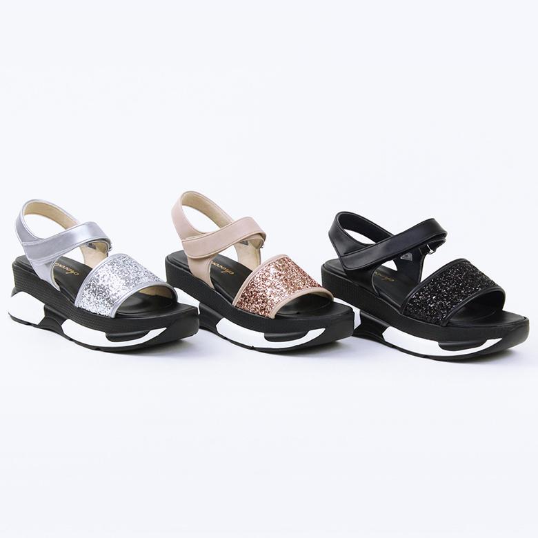 Glitter Sports Sandal [No.8051]