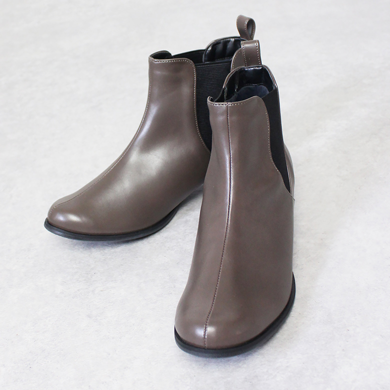Side Gore Short Boots [No.2924]