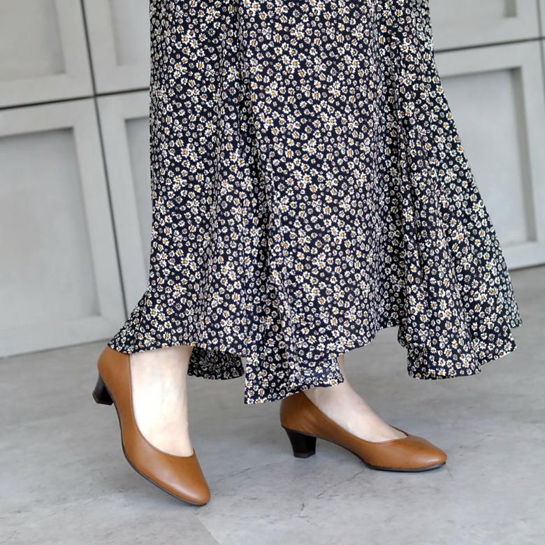 Round Plain Pumps [No.62-09aw]