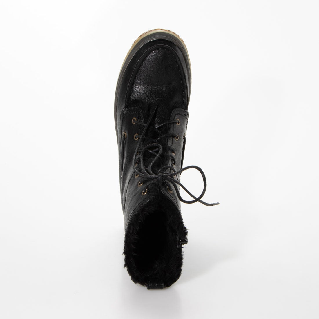 Laceup Boa Boots [No.9580]