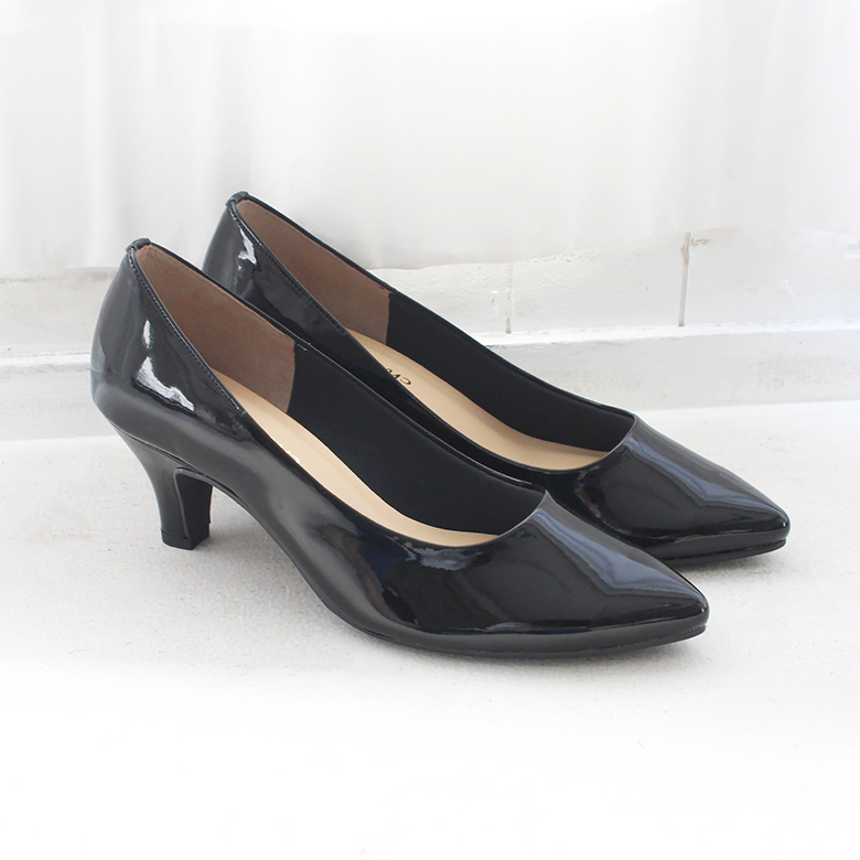 Pointed Enamel Pumps [No.3169-18aw]
