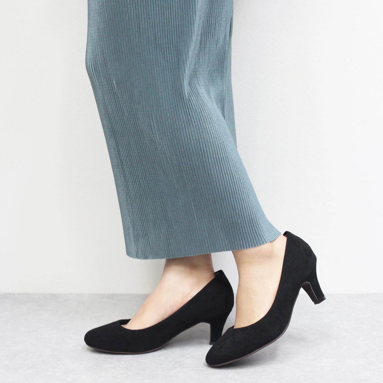 "Round toe Plain Pumps""Enamel""Smooth"" [No.9981]"