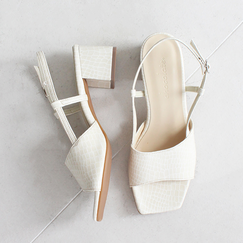 Back Strap Heel Sandal [No.2685]