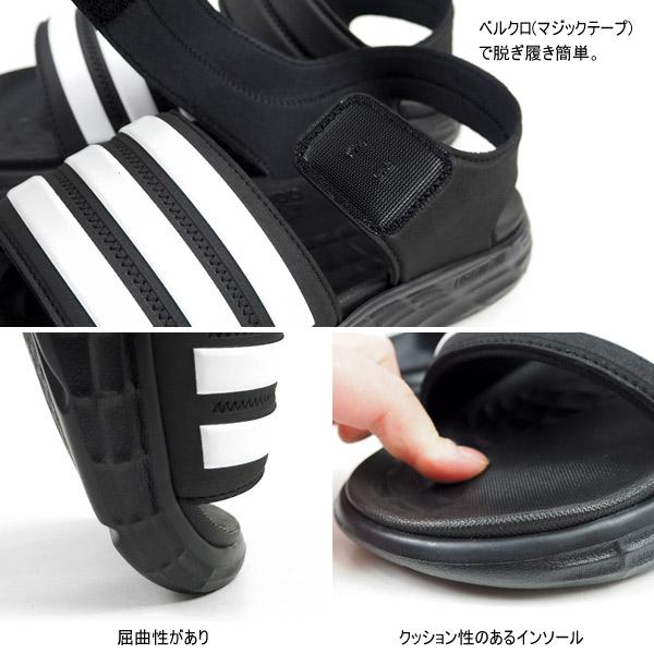 アディダス adidas スポーツサンダル DURAMO SL SANDAL FY6035 メンズ レディース  [fy6035]