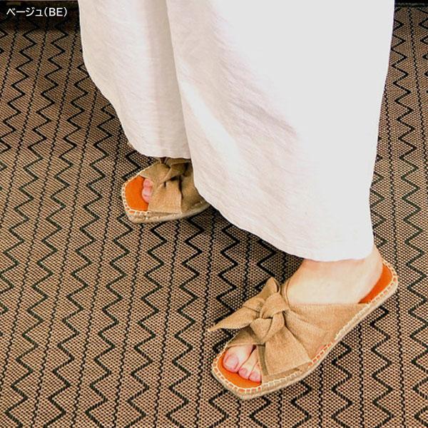 あしながおじさん サンダル リボンミュールサンダル 3110011 レディース  [a3110011]