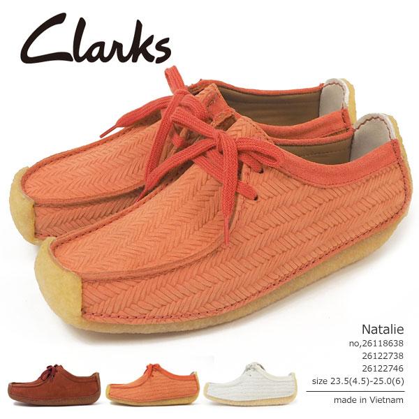クラークス Clarks カジュアルシューズ Natalie ナタリー 26118638/26122738/26122746 レディース  [c261]