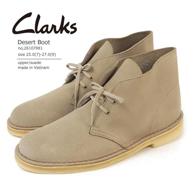 クラークス Clarks チャッカブーツ レースアップシューズ Desert Boot デザートブーツ 26107881 メンズ  [c26107881]