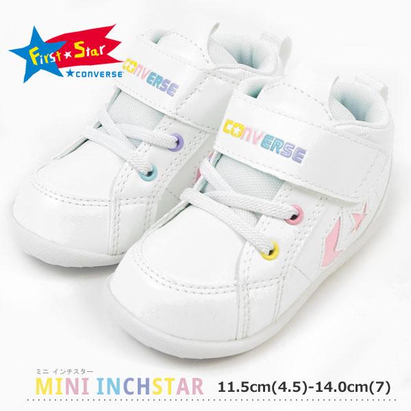 コンバース CONVERSE ファーストシューズ FIRST STAR ファーストスター MINI INCHSTAR ミニ インチスター キッズ  [minipin]