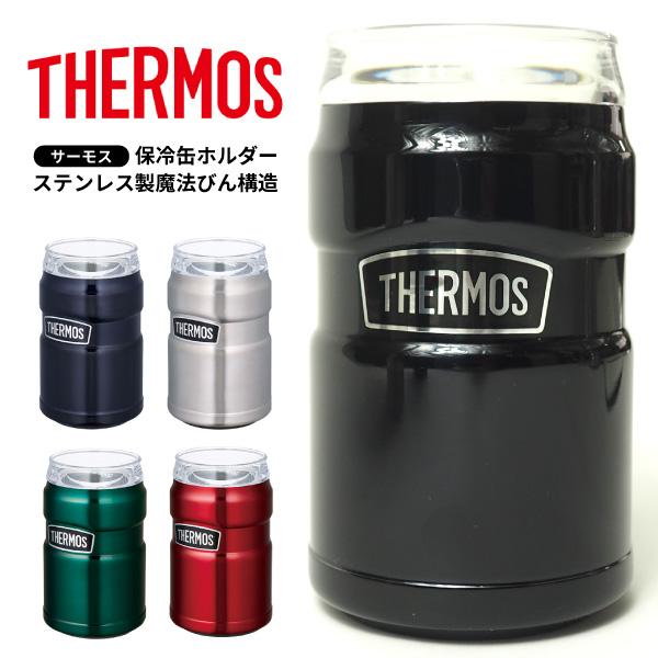 サーモス THERMOS 保冷缶ホルダー ROD-002 アウトドア用品  [rod002]