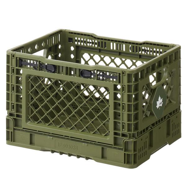 ロゴス LOGOS 収納ボックス たためるストロングコンテナ・M (蓋付) No.73188024 アウトドア用品  [lgs73188024]