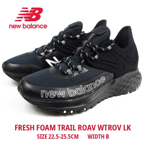 ニューバランス new balance スニーカー FRESH FOAM TRAIL ROAV WTROV LK メンズ レディース トレイルバージョン ラギッド アウトドアテイスト ランニングシューズ 運動 ヨガ スポーツ