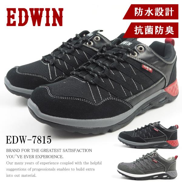 エドウィン EDWIN ローカットスニーカー EDW-7815 メンズ カジュアル ウォーキング 抗菌防臭 クッション性  [edw7815]