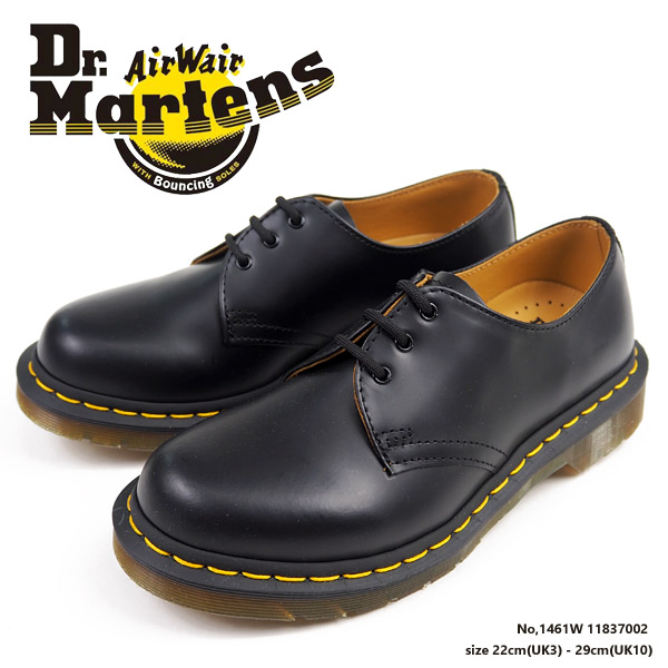 Dr.Martens ドクターマーチン 3ホールシューズ 1461W 11837002 メンズ レディース  [dr11837002]