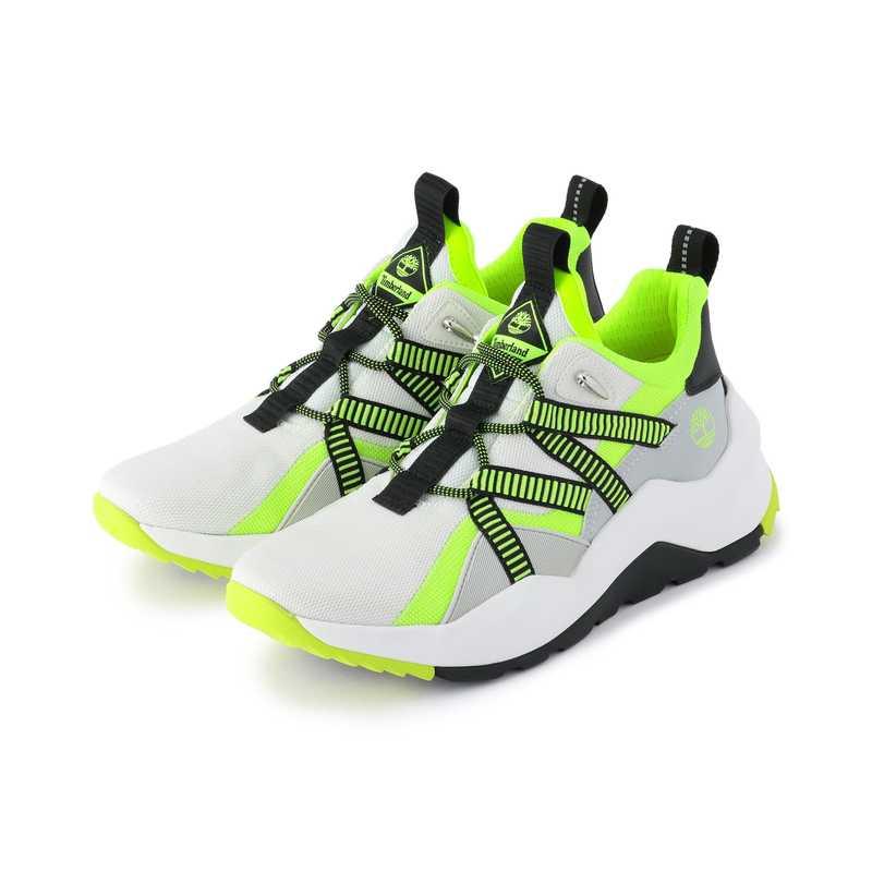 ☆ティンバーランド Timberland スニーカー メンズ A2HWR マドバリー キャンバス ホワイト クッション性 耐久性 リサイクル 靴 シューズ