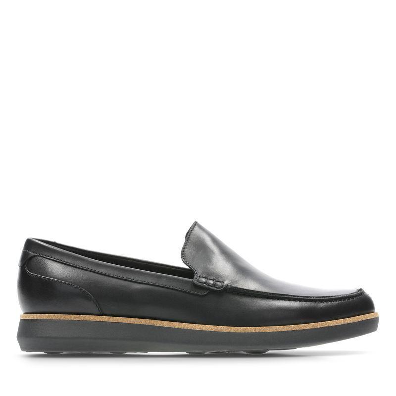 送料無料!☆クラークス Clarks ビジネス メンズ Fairford Step 26143049 ブラック 革靴 本革 レザー 牛革 靴 シューズ