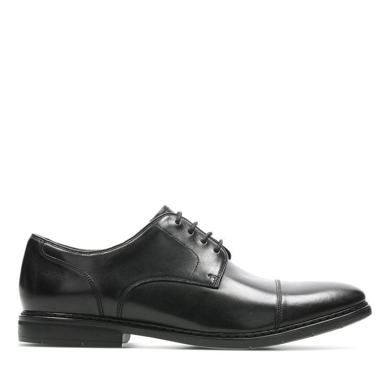 送料無料!☆クラークス Clarks ビジネス メンズ Banbury Walk 26144773 ブラック 革靴 本革 レザー 牛革 靴 シューズ