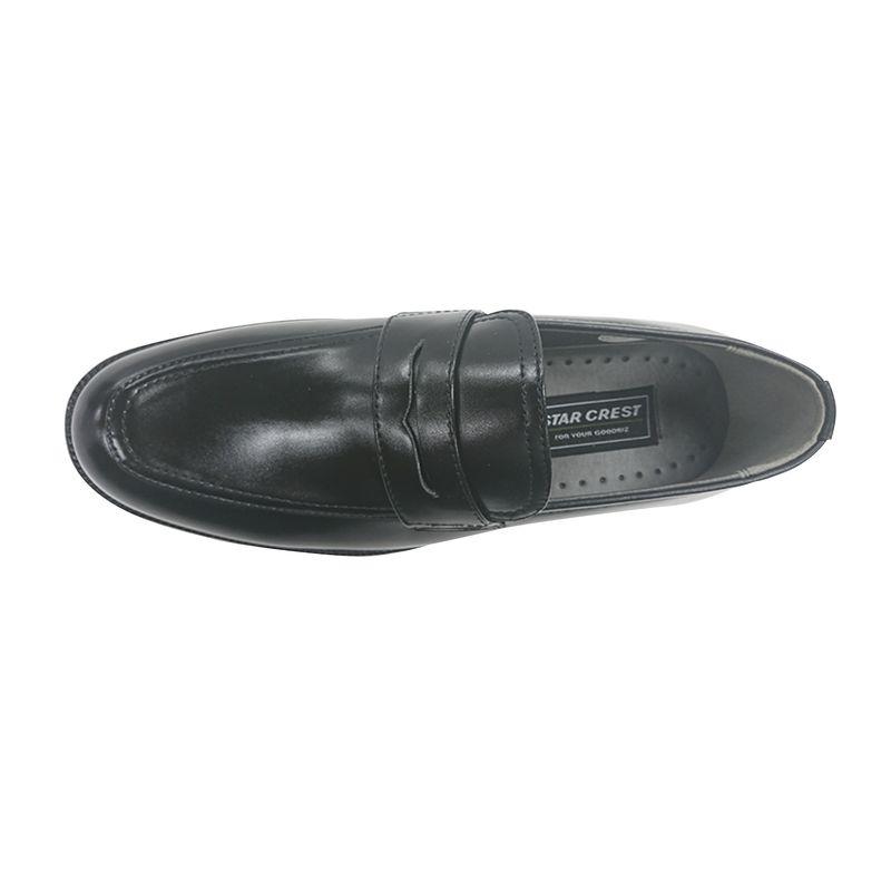 ☆スタークレスト STAR CREST ビジネス メンズ ローファー 106 ブラック BLACK 24.5〜27,28cm 靴 シューズ