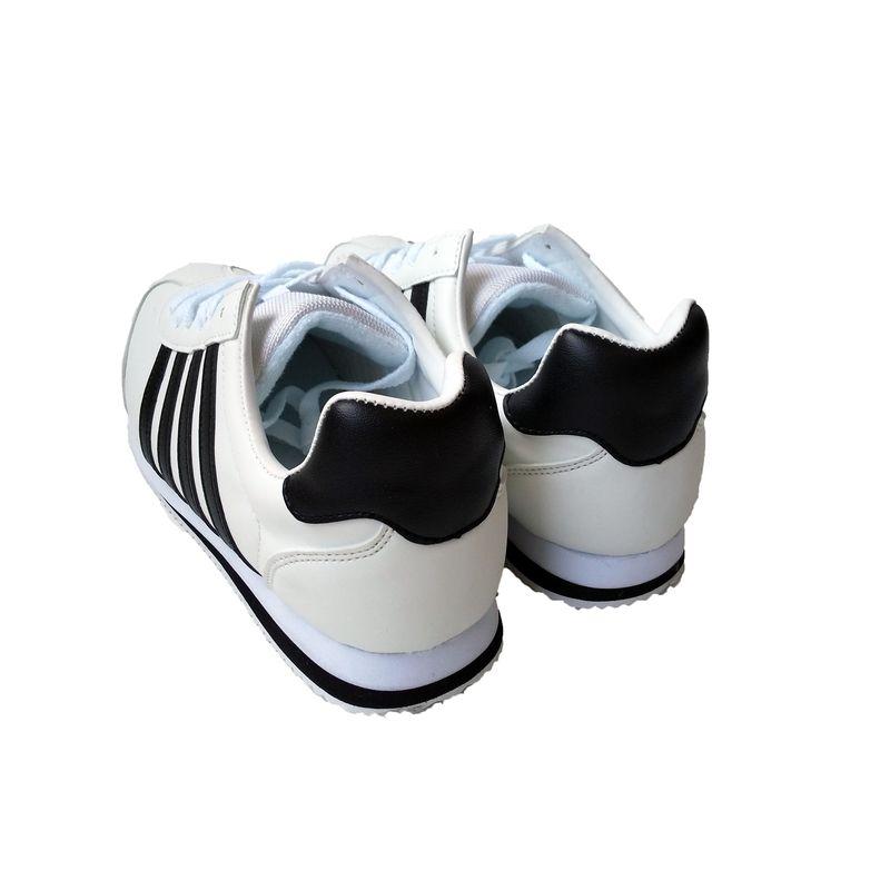 ☆スニーカー メンズ カジュアル 3163 ホワイト/ブラック 24.5〜27,28cm  作業靴 靴 シューズ
