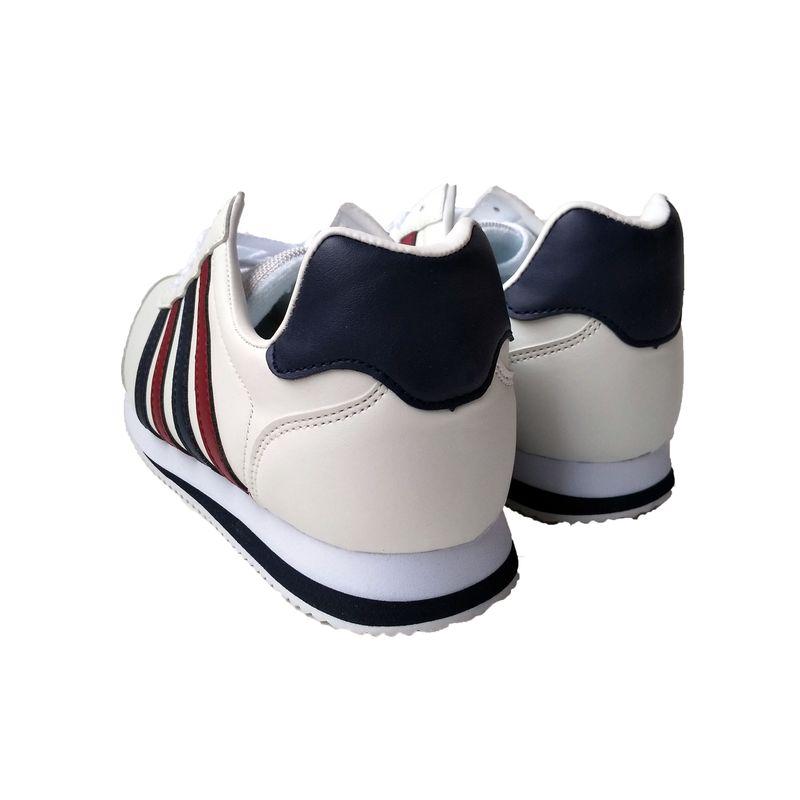 ☆スニーカー メンズ カジュアル 3163 ホワイト/トリコ 24.5〜27,28cm  作業靴 靴 シューズ