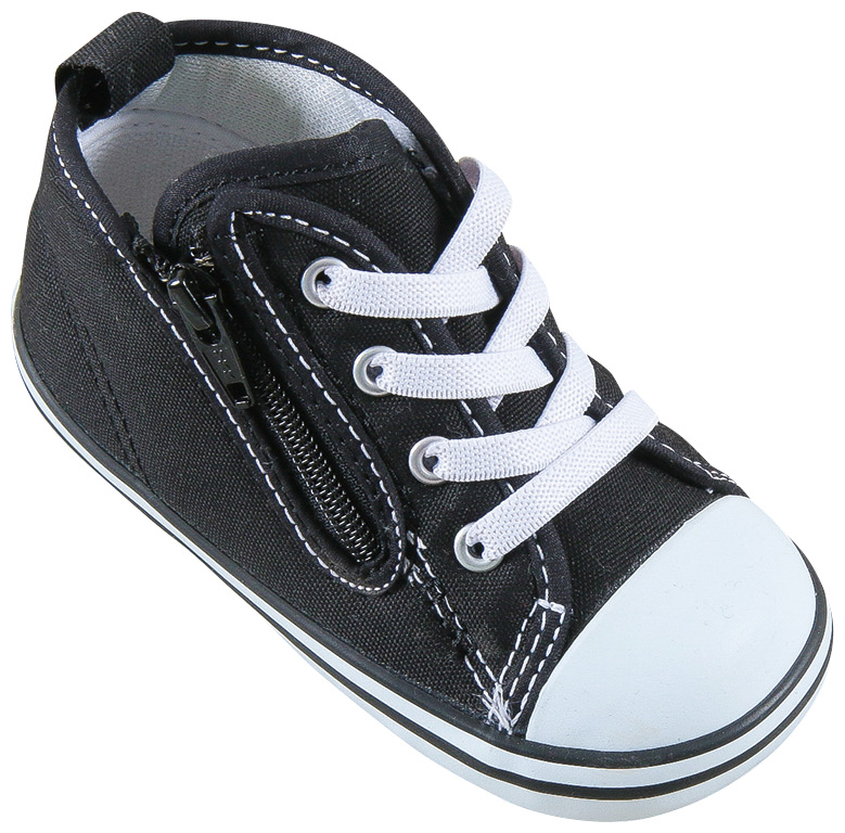 送料無料!☆コンバース スニーカー ベビー converse  BABY ALL STAR N Z ベビー オールスター N Z  ブラック BLACK 12cm 12.5cm 13cm 13.5cm 14cm 14.5cm 15cm キッズ ファスナー ゴアシューレース 定番