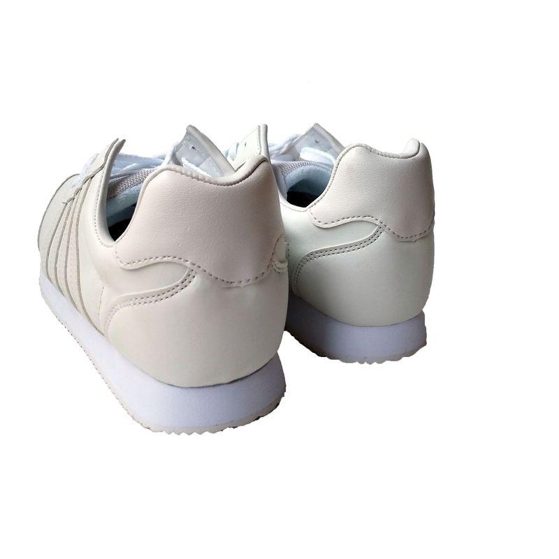 ☆スニーカー メンズ カジュアル 3163 ホワイト 24.5〜27,28cm 作業靴 通学 白 靴 シューズ